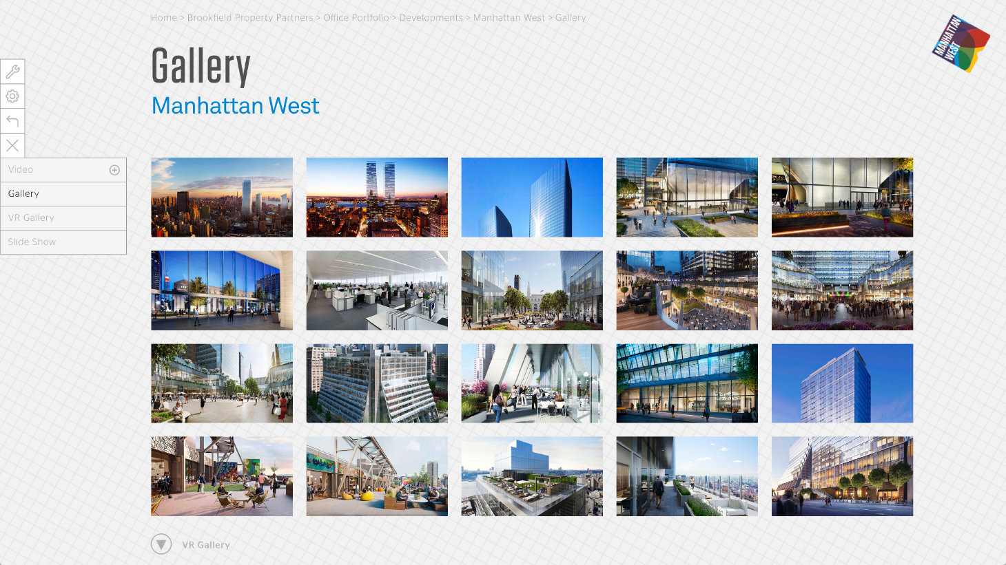 Manhattan West Office Leasing App - Phase 2