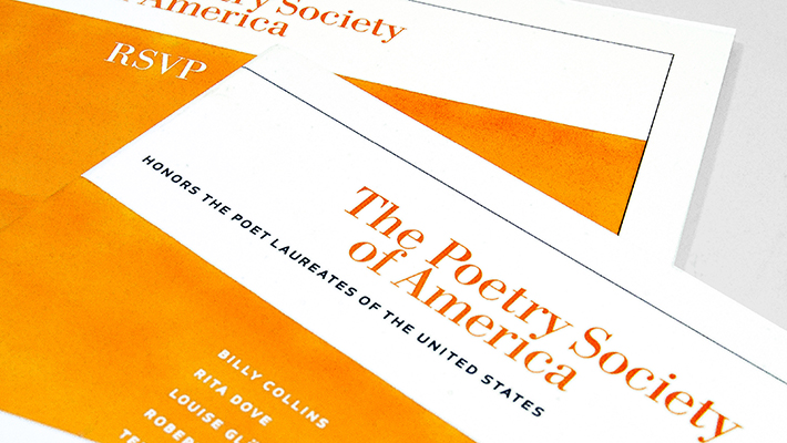 Poet Laureate Event Collateral